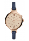 Fossil Hybrid Smartwatch - Q Annette Blue Leather