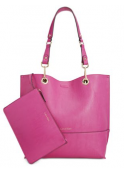 Calvin Klein Reversible N/S Novelty Tote Bag