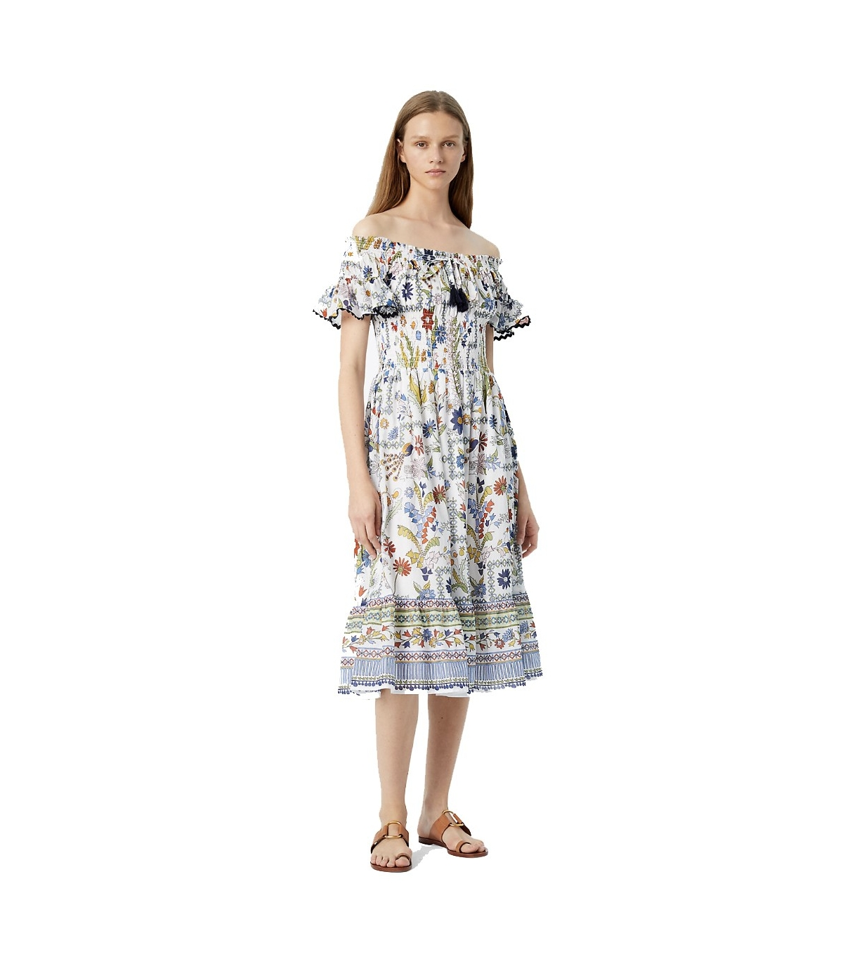 475009b400862 Tory Burch MEADOW FOLLY DRESS