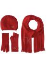 Calvin Klein Women's Super Soft Beret, Scarf and Glove Set