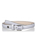 Calvin Klein Women's 20mm Feather Edge Belt with Prong and Leather Nose Wrap Calvin Klein - 1