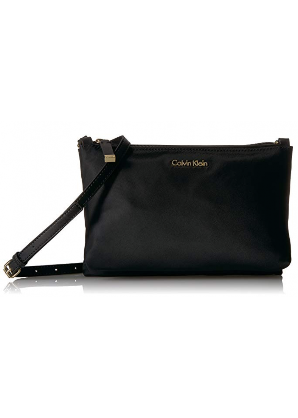 ac28eec5064 Calvin Klein Lucy Nylon Top Zip Crossbody 38$. Tap to expand