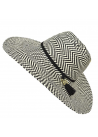 Calvin Klein Women's Graphic Weave Sun Hat