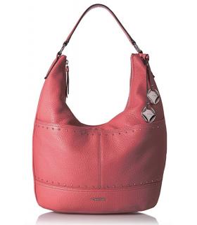 Calvin Klein Avery Pebble Hobo Pink