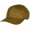 Calvin Klein Jeans Men's Suede Logo Baseball Dad Hat