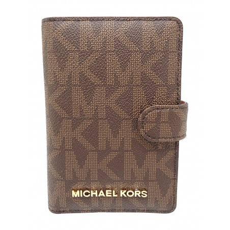 Michael Kors Jet Set Travel Passport Case Wallet