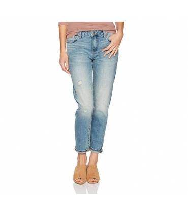 Lucky Brand Women's Mid Rise Sienna Slim Boyfriend Jean in Native Size 27