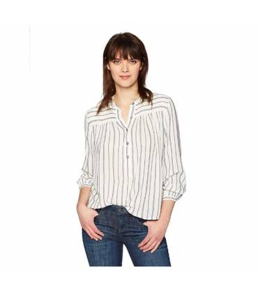 Lucky Brand Women's Stripe Popover Medium