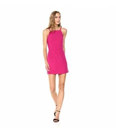 French Connection Women's Whisper Light Sleeveless Strappy Stretch Mini Dress Size 10