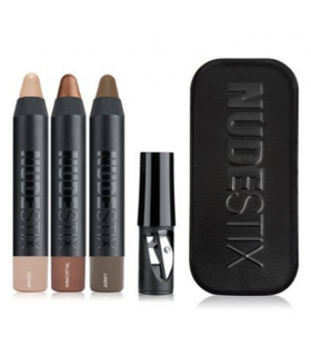 NUDESTIX Magnetic Eye Color Smoky Nude Eyes in Army Immortal Angel