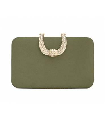 INC International Concepts I.N.C. Danyele Satin Clutch