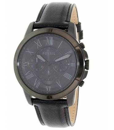 Fossil Men's 44mm Blacktone