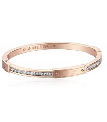 Michael Kors Pave Hinge Bangle Bracelet