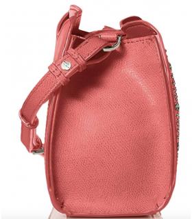 Calvin Klein Clementine Mercury Leather & Celestial Stud Embellished Crossbody