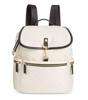 Calvin Klein Clip Backpack RedSilver Metallic