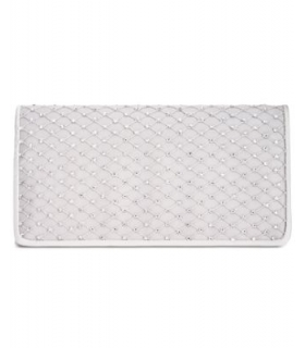 Adrianna Papell Sigrid Small Clutch NavySilver