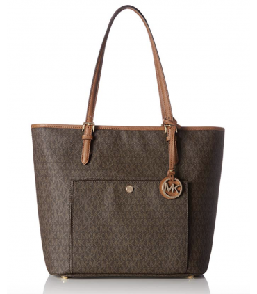 MICHAEL  Kors Jet Set Travel Large Logo Tote Michael Kors - 2