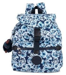 Kipling Keeper Small Backpack Blue BeamSilver