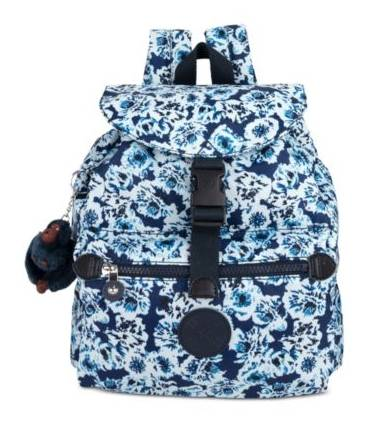 Kipling Keeper Small Backpack Blue BeamSilver