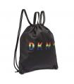 DKNY Pride Embossed Logo Drawstring Backpack