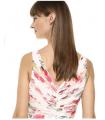 Calvin Klein Women's Sleeveless V-Neck Gown with Shirred Bodice Dress Calvin Klein - 4