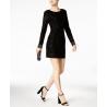 GUESS Velvet Sheath Dress, I.N.C. Clutch & Steve Madden Dress Sandals
