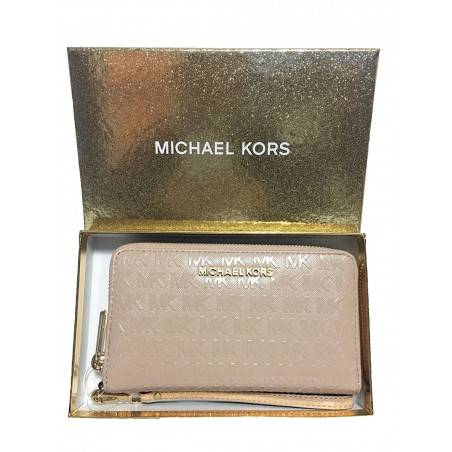 Michael Kors Giftables Jet Set Travel Flat Leather Phone Case Michael Kors - 1