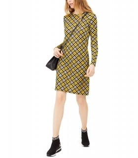 Michael Kors Plaid T-Shirt Dress, Regular & Petite