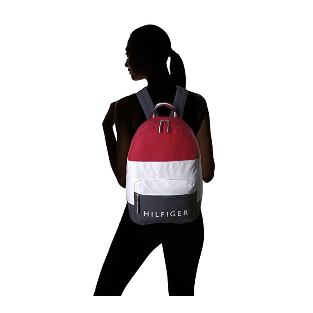2a190cd595dbd Tommy Hilfiger Women s Backpack Patriot Colorblock Canvas