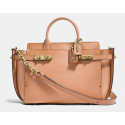 Coach Double Swagger APRICOT/OLD BRASS