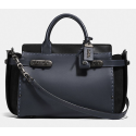 Coach Double Swagger NAVY/BLACK/BLACK COPPER