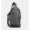 Manhattan Sling Pack In Colorblock DENIM/GRAPHITE/BLACK ANTIQUE NICKEL