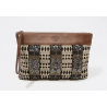 Abercrombie EMBELLISHED CANVAS CLUTCH