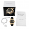 Michael Kors Access Dylan Gold-Tone Silicone Smartwatch