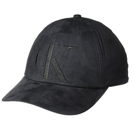 Calvin Klein Jeans Men s Suede Logo Baseball Dad Hat 71c70101d81