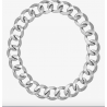 MICHAEL KORS Rhodium-Plated Chain-Link Choker
