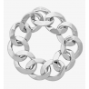 MICHAEL KORS Rhodium-Plated Chain-Link Bracelet