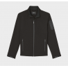 SOFT SHELL STAND COLLAR JACKET
