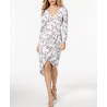 GUESS Kellie Floral-Print Wrap Dress