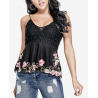 GUESS Bianca Embellished Lace Peplum Top